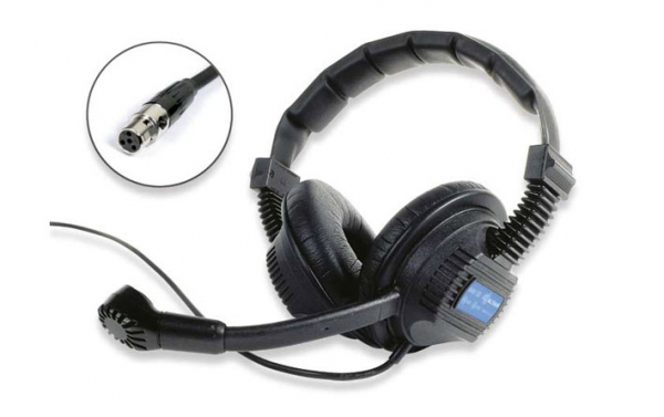 Intercom Headsets (Miniature 4pin XLR Connector)
