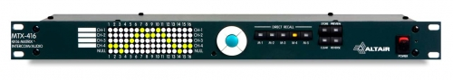 """MTX-416"" Matriz de Intercom Programable 4x16"