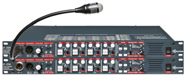 """EF-204-S2""  8 Channels Wired Intercom System"